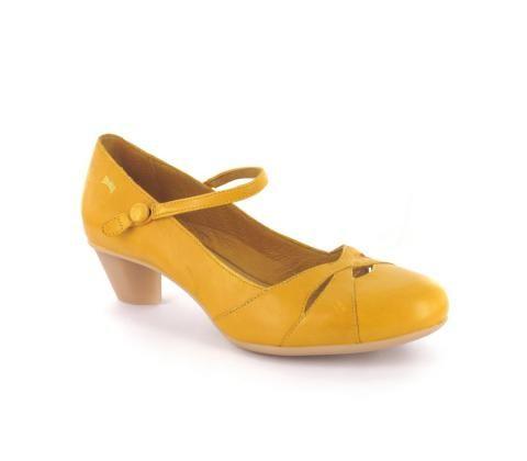 CAMPER Ballerine Jaune   Carmi chaussures & mode