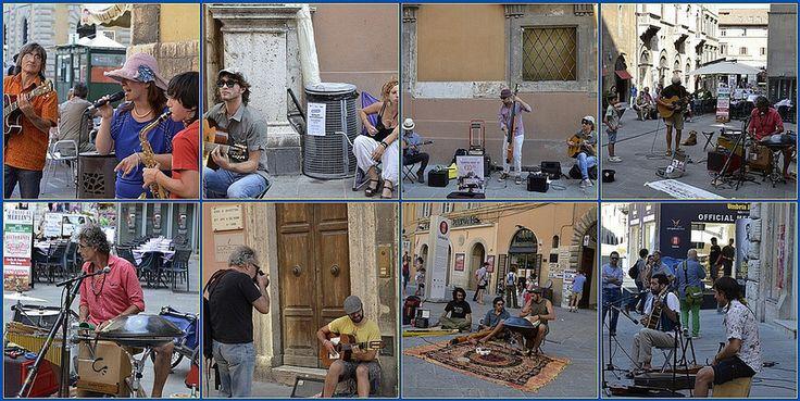 Artisti di strada ad Umbria Jazz 2013