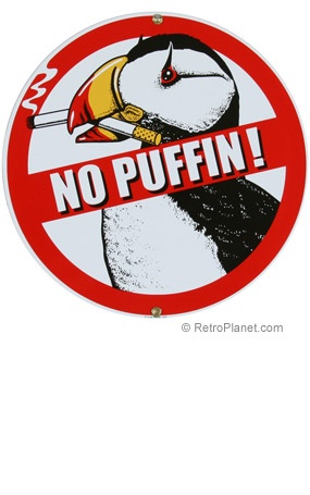 non smoking signs - Muckgreenidesign