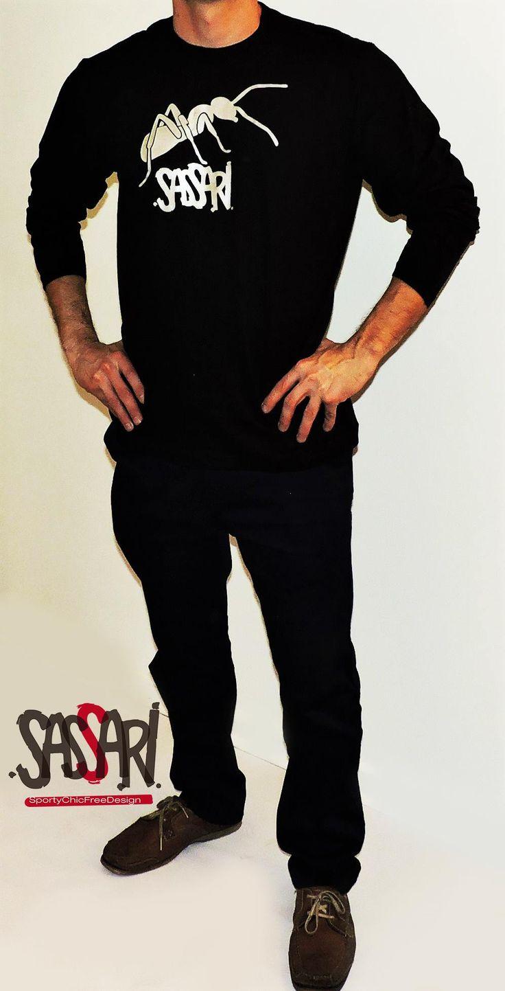 Polera manga larga Estampado color plateado Diseño Exclusivo. Valor: $15900