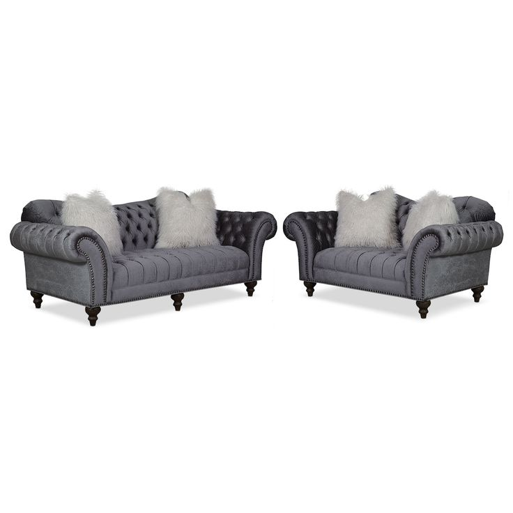 Best Brittney Sofa And Loveseat Set Value City Furniture And 400 x 300
