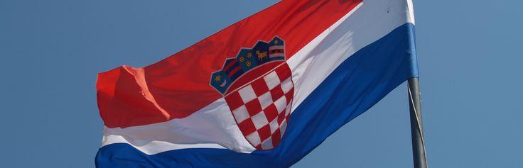 Flaga Chorwacji  #chorwacja #croatia