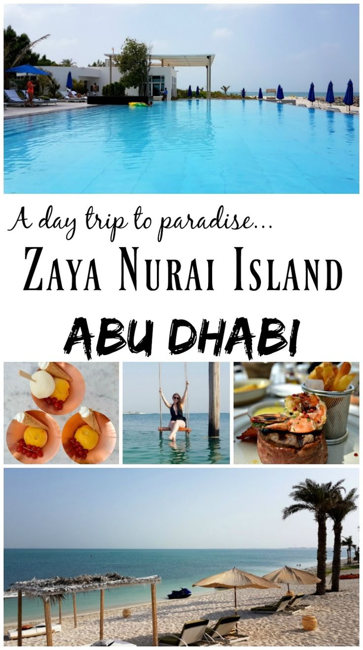 A Day Trip to The Paradise of Zaya Nurai Island, Abu Dhabi. | Lux Life - A Luxury Lifestyle Blog