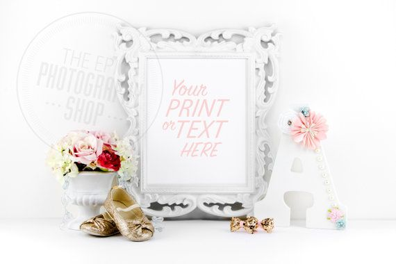 Print Background / Blank Frame / Styled Stock Photography / Product Photography / Staged Photography / Product Background / GR009