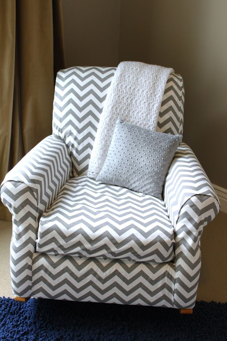 No sew upholstery might do this with the nursery rocker when we are done with it in ben 39 s room - Rocking chair cushion diy ...
