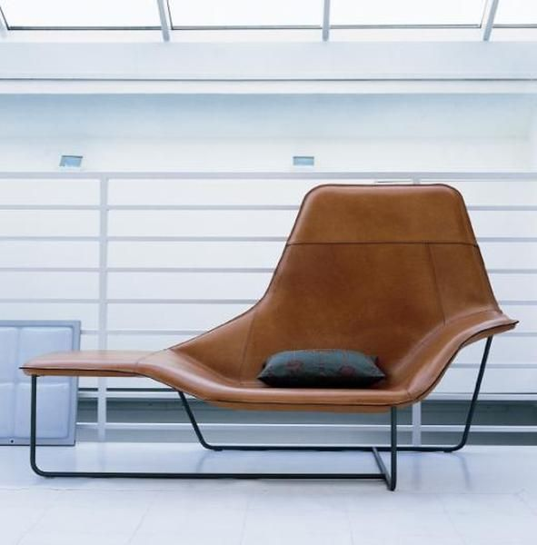 171 best interior ideas images on pinterest architecture - Chaise longue en cuir design ...