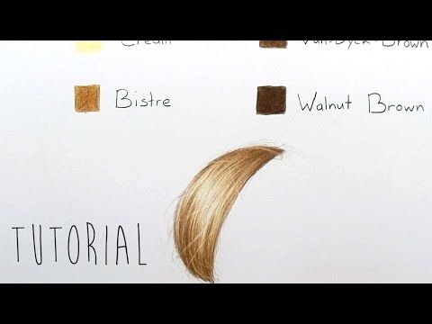 Tutorial | How to color shade different skin tones with colored pencils and blending techniques - YouTube