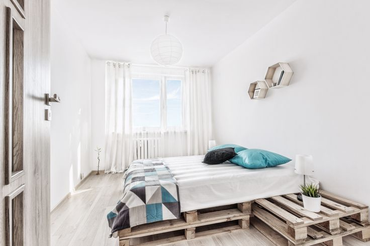 home staging, home, dekorialove, fotografia wnętrz, salon, bedroom, foto, interior, interior design, blue decor, palety