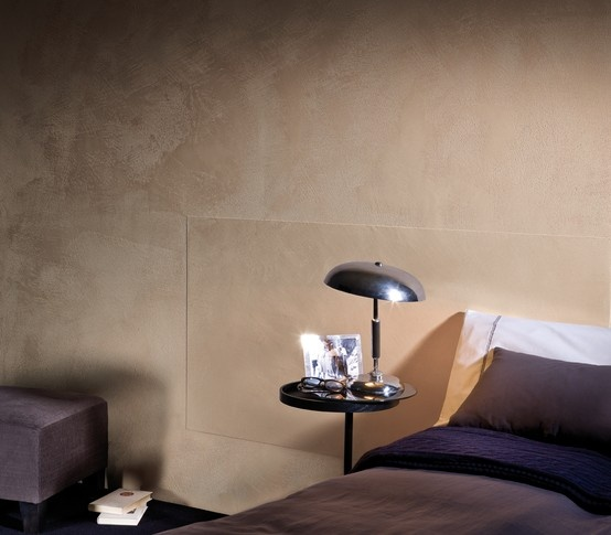 Segui il tuo istinto is innovative and extremely versatile, this stucco allows working the wall with a single coat. Follow your creative instinct creating real textures in your interiors, playing with personalized relief effects and infinite colour combinations. Consisting of only lime, marble dust and minerals, this product, which can cover up minor irregularities in the wall, represents the union of nature and design. #giorgiograesan #interiors #design #eco #marble #stucco