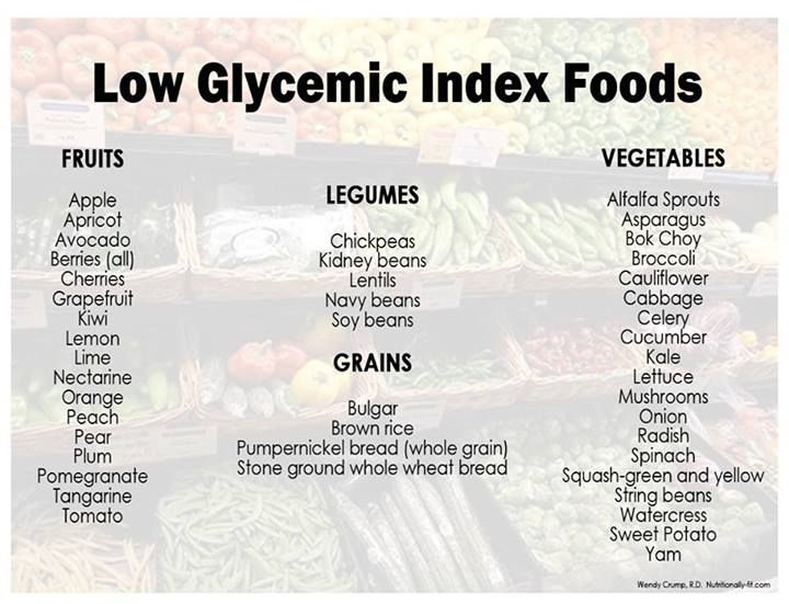 Low Glycemic Index Foods Recipes