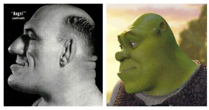 The French Angel Wrestler, Maurice Tillet, Death Masks, and how he inspired Shrek: DID MAURICE TILLET INSPIRE SHREK?