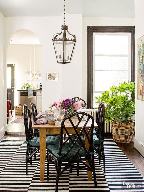 Fresh And Fun Historic Home Makeover Classic Dining RoomRustic