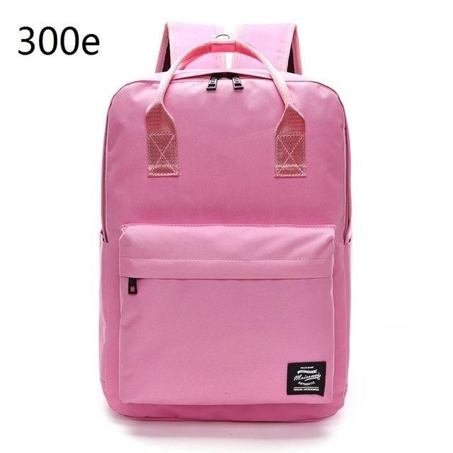 Laptop Bag Students Simply Hit The Color Shoulder Bag Leisure Travel Backpack Multifunction Computer Business Computer Bag