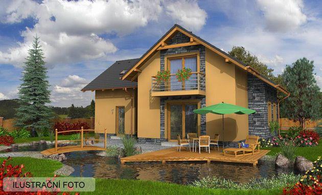 Prodej rodinných domů - Staving Olomouc - Jesenice - Mladíkov - RD typ Toledo