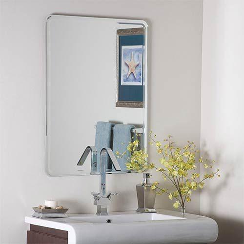 Samson Frameless Bevel Mirror Decor Wonderland Wall Mirror Mirrors Home Decor  $127