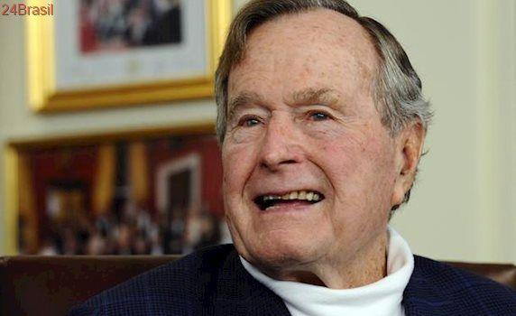 Ex-presidente dos EUA George H.W. Bush é hospitalizado em Houston