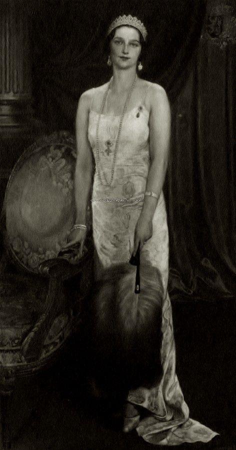 Queen Astrid of Belgium, neé princess of Sweden. 1930s.