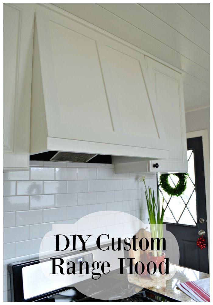 DIY custom range hood for under $50. | chatfieldcourt.com