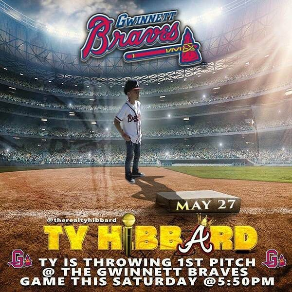Congrats to TAS Student Tyler Hibbard- He is throwing the first pitch at the Gwinnett Braves game this Saturday May 27that 5:50pm  #baseball #gwinnettbraves