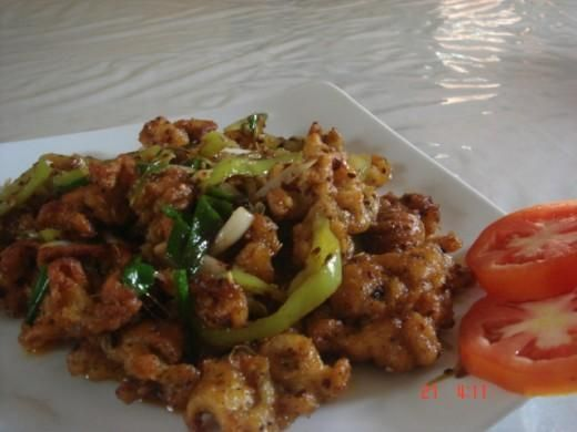 Cuttlefish and Squid Recipe from my Cookbook (Hot Butter Cuttlefish) octopus recipe
