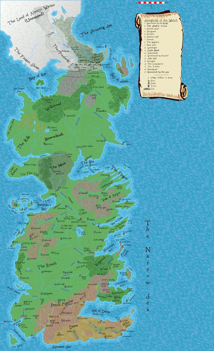 Best 25 Map Of Westeros Ideas On Pinterest