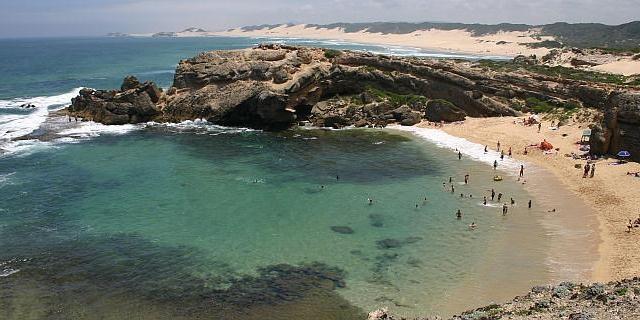 Shelley Beach, Kenton-on-Sea, South Africa.