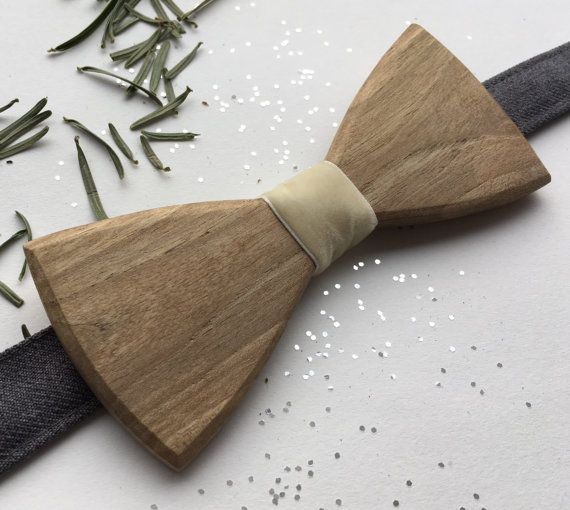 Wooden bow tie Eco design Hand made Wooden by terezavarga on Etsy