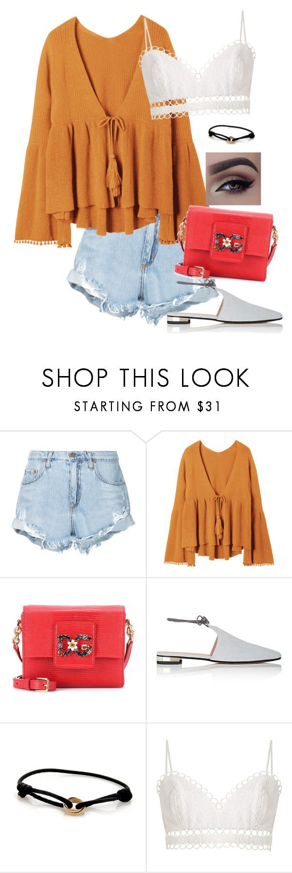 """""""Every day look """" by alwateenalr on Polyvore featuring Nobody Denim, Dolce&Gabbana, Barneys New York, Cartier and Zimmermann"""