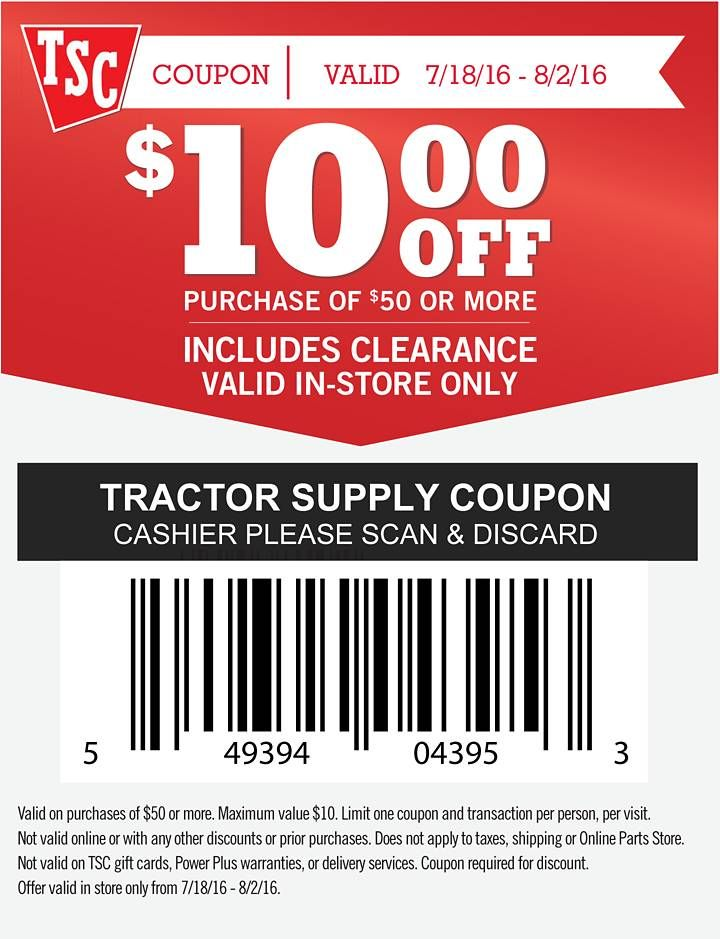 tractor supply 25 off coupon