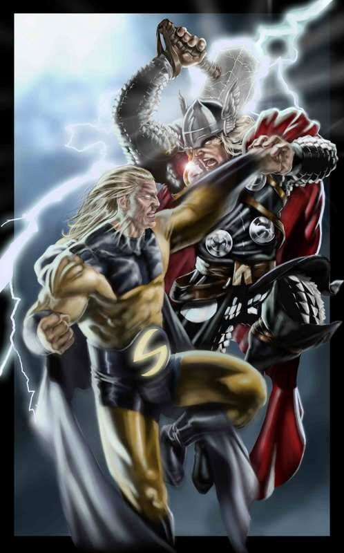 The Sentry vs Thor | Marvel | Pinterest