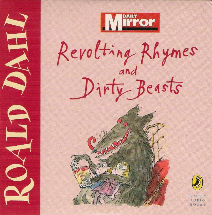 ROALD DAHL  REVOLTING RHYMES & DIRTY BEASTS  UNABRIDGED PROMOTIONAL CD ~
