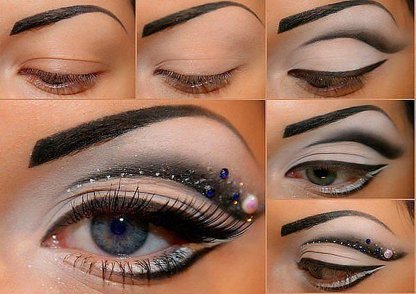 Dramático Tutorial de maquillaje de ojos para la noche de Look