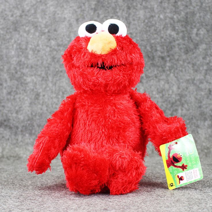 36cm Sesame Street Elmo Plush Toys Soft Stuffed Doll Collection Figures Kids Dolls
