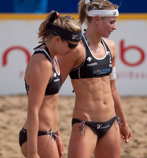 New Zealand Beach Volleyball competitors.