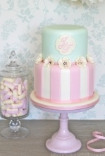 Candy Stripes Cake: Stripes Cakes, Cakes Ideas, Candy Stripes, Wedding Cakes, Cakes Design, Bakeries Shops, Pastel Cakes, Girls Birthday Cakes, Baby Shower