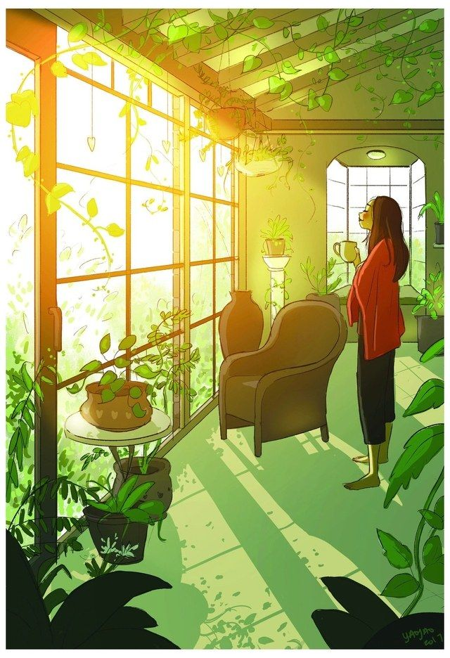 These 14 Drawings Perfectly Capture How Magical Living Alone Can Be In 2020 Alone Art Living Alone Illustration