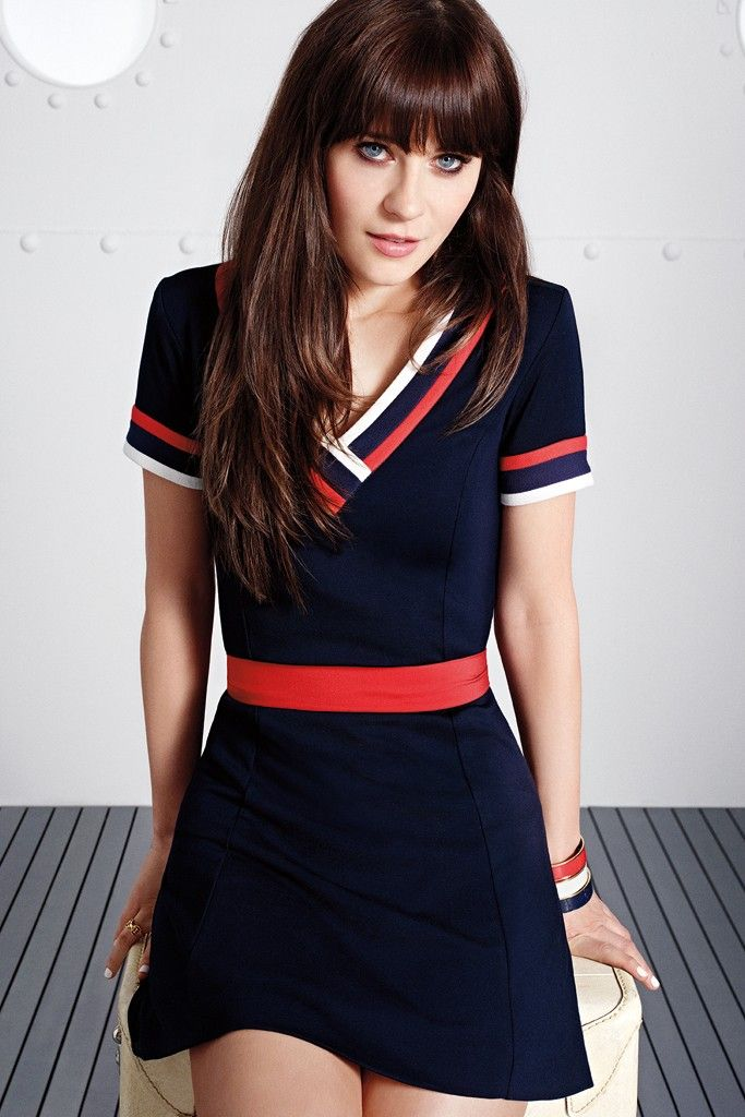 "To Tommy–""New Girl"" star Zooey Deschanel is teaming up with American designer Tommy Hilfiger for a new capsule collection which will launch at Macy's stores in the spring says WWD. Called ""To Tommy"", the line of whimsical dresses has flirty, sixties inspired shapes and cool fabrics. The line will also include shirt dresses made from …"