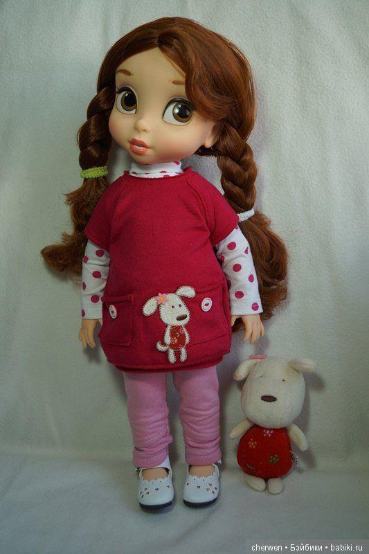 Принцессы Дисней дома: Рапунцель и Бэлль / Куклы Принцессы Дисней, Disney Princess от Disney Animators / Бэйбики. Куклы фото. Одежда для кукол