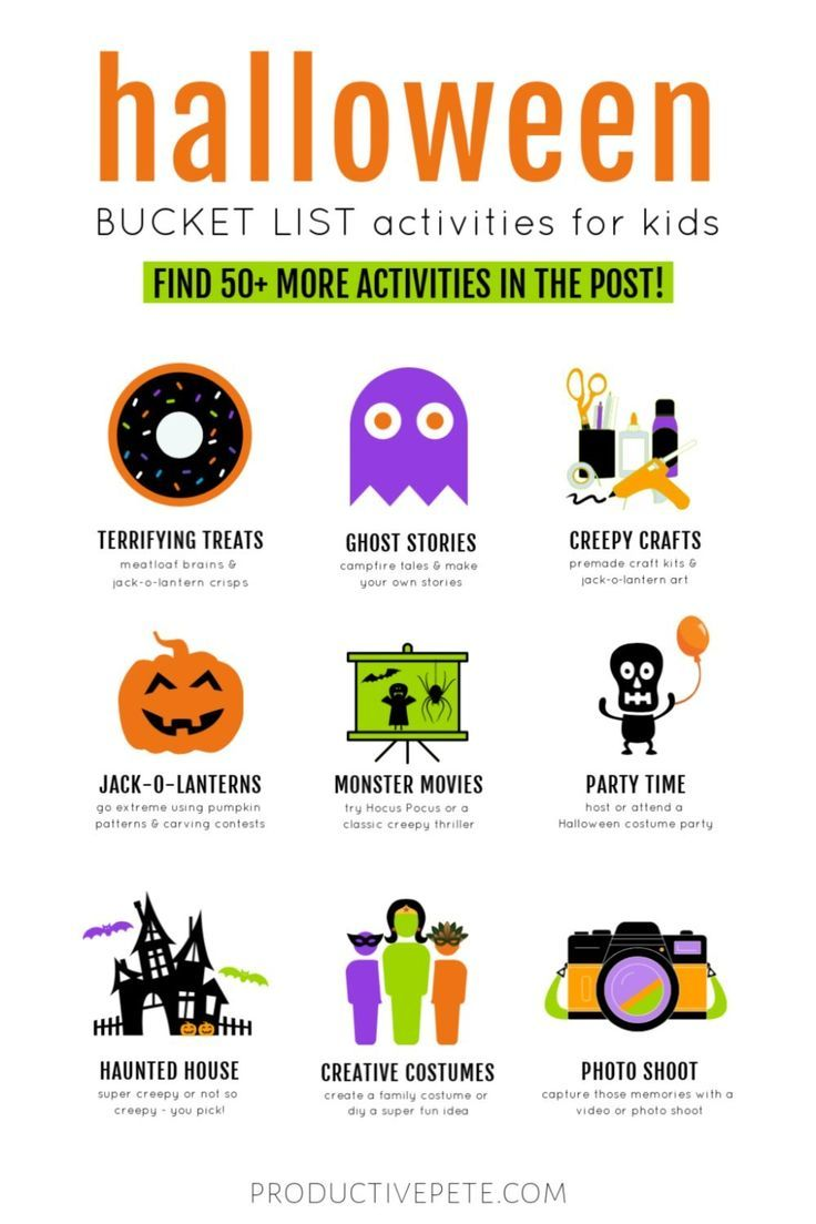 Halloween Costumes For October 2020 That All Ages Will Get Halloween Bucket List Activities for Kids & Families in 2020