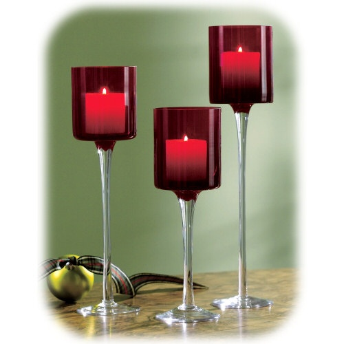 17 best images about long stem candle holders on pinterest glass votive floating candles and. Black Bedroom Furniture Sets. Home Design Ideas