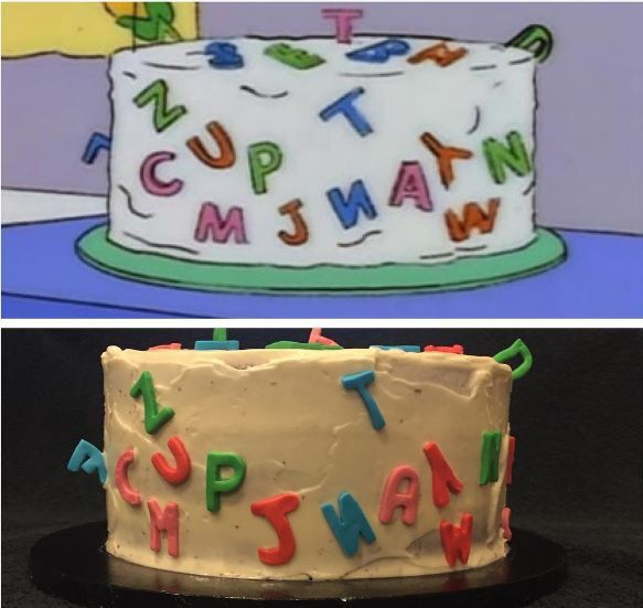 1000+ Ideas About Simpsons Cake On Pinterest