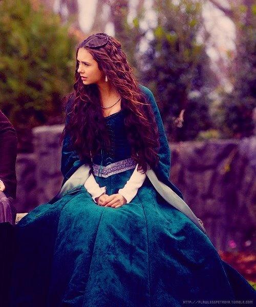 """Nina Dobrev as Katherine Pierce in """"The Vampire Diaries"""" (Medieval/Fantasy)"""