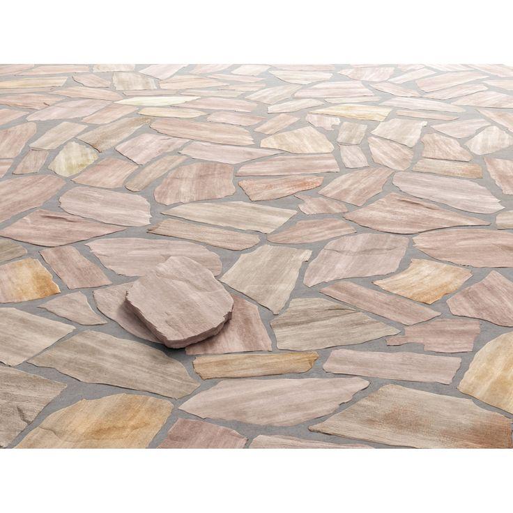 Material: Quarzit • Stärke:  1,3 cm - 2,5 cm • Unterschiedliche Plattengrößen ✓ Quarzit-Polygonalplatte Rio Rosario im OBI Online-Shop kaufen