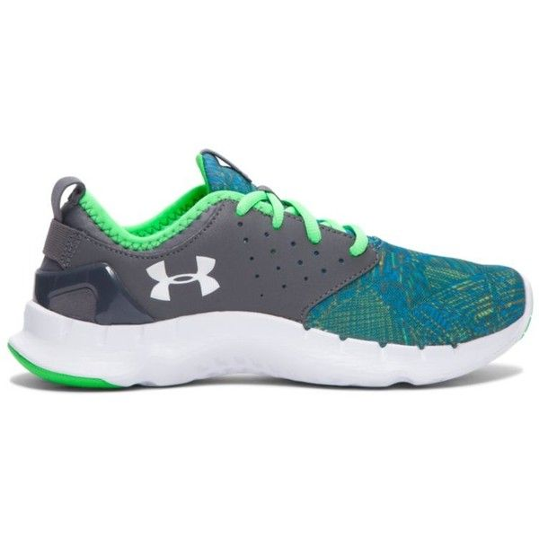 Under Armour Women's UA Flow Criss Cross Running Shoes (110 CAD) ❤ liked on Polyvore featuring shoes, athletic shoes, graphite, structure shoes, running shoes, under armour footwear, under armour and shock absorbing shoes
