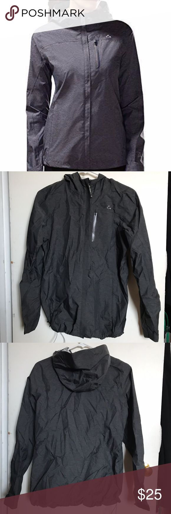 Paradox Women's Rain Jacket Accepting offers! No trades. Paradox Women's Rain Jacket; water-proof, has drawstring at the bottom to adjust fittedness, velcro straps on wrists, and chest pocket with headphone opening inside. Women's Medium. Paradox Jackets & Coats