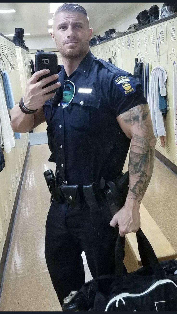 image Gay sexy police men xxx two daddies