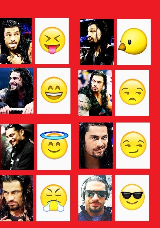 All the Roman faces
