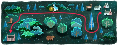37th Anniversary of The Neverending Story's first publishing! #GoogleDoodle