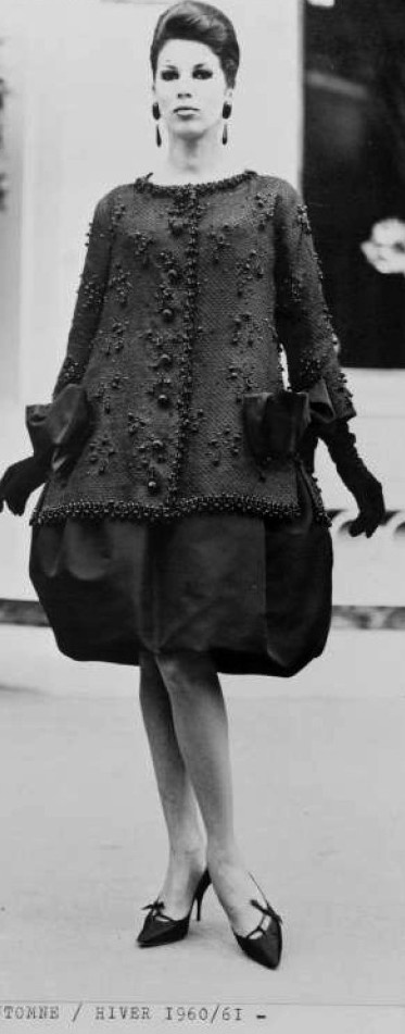 1960-61 - Victoire in YSL for Dior
