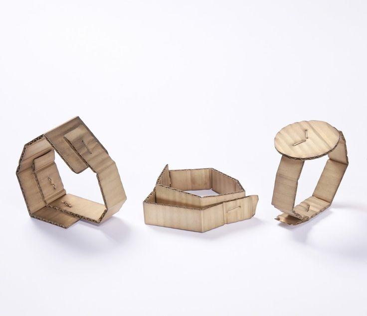 David Bielander, 'Cardboard bracelets', 2015